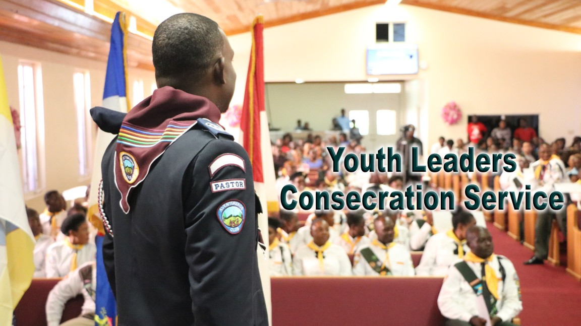 Adventist Youth Leaders Consecration Service at Good News Church